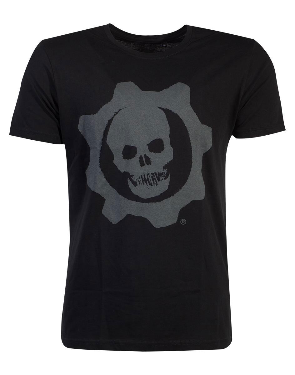 Gears Of War T-Shirt Skull Badge Size XL
