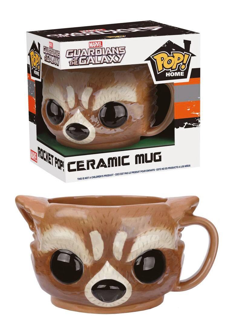 Guardians of the Galaxy POP! Home Mug Rocket Raccoon