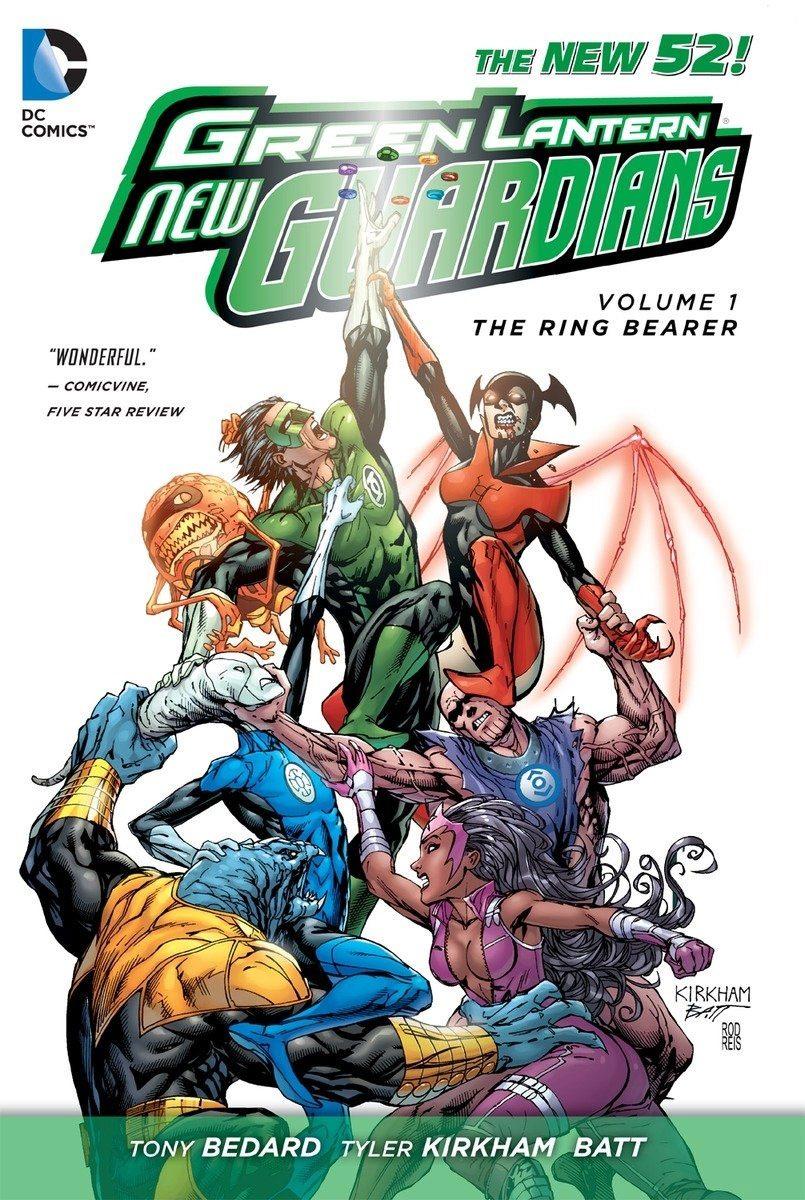 DC Comics Comic Book Green Lantern New Guardians Vol. 1 Ring Bearer by Antony Bedard english