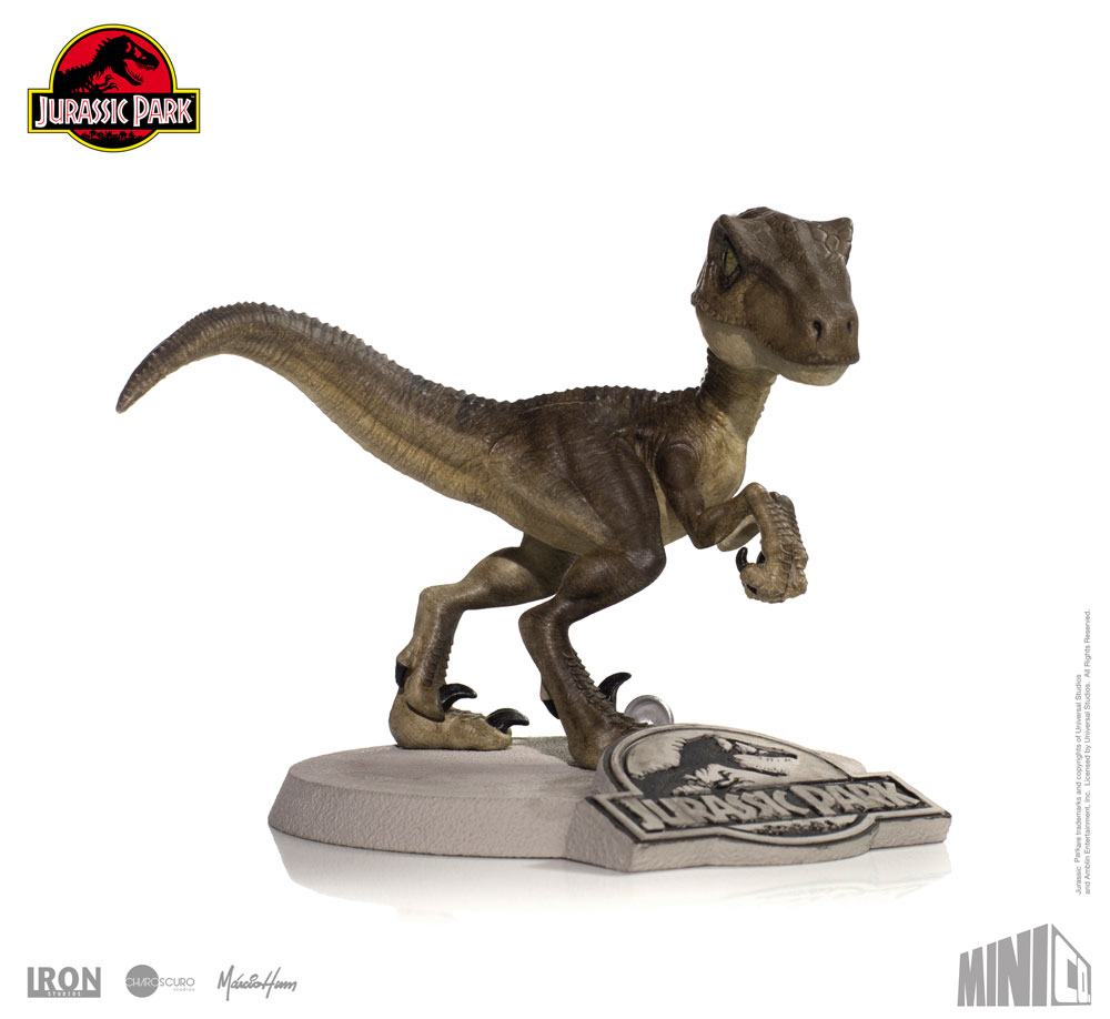 Jurassic Park Mini Co. PVC Figure Velociraptor 13 cm