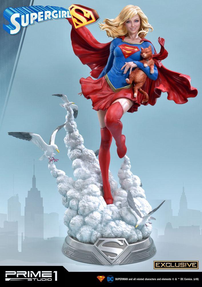DC Comics Statues 1/3 Supergirl & Supergirl Exclusive 78 cm Assortment (3)