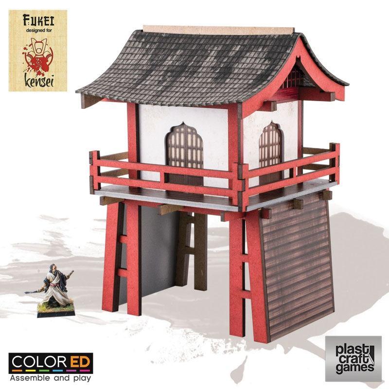 Kensei ColorED Miniature Gaming Model Kit 28 mm Romon