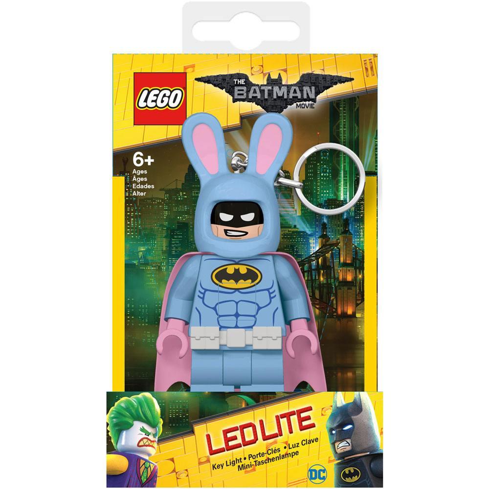 Lego Batman Movie Mini-Flashlight with Keychains Bunny Batman