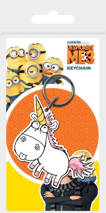 Despicable Me 3 Rubber Keychain Unicorn 6 cm