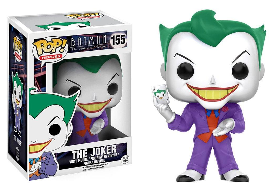 Batman The Animated Series POP! Heroes Figure The Joker 9 cm