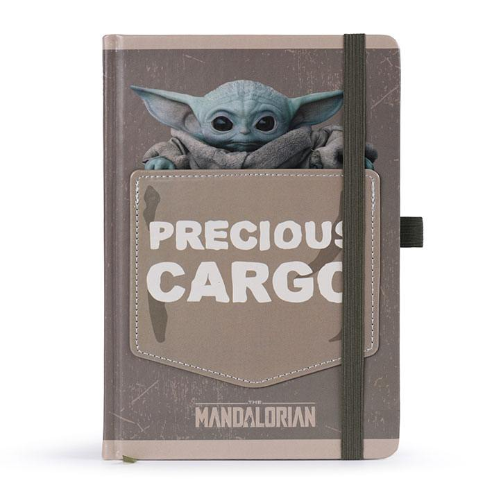 Star Wars The Mandalorian Premium Notebook A5 Precious Cargo