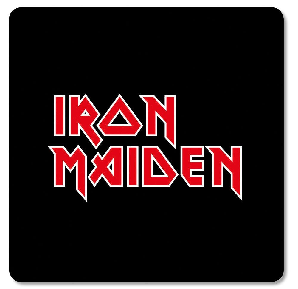 Iron Maiden Coaster Pack Logo (6)