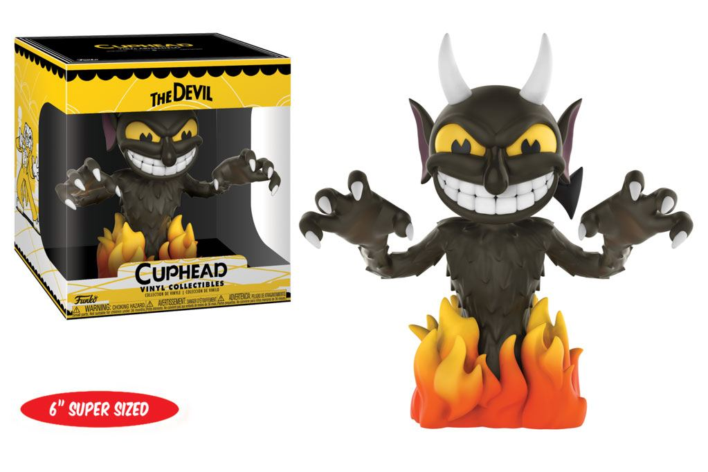 Cuphead Super Sized Vinyl Collectible Figure The Devil 15 cm