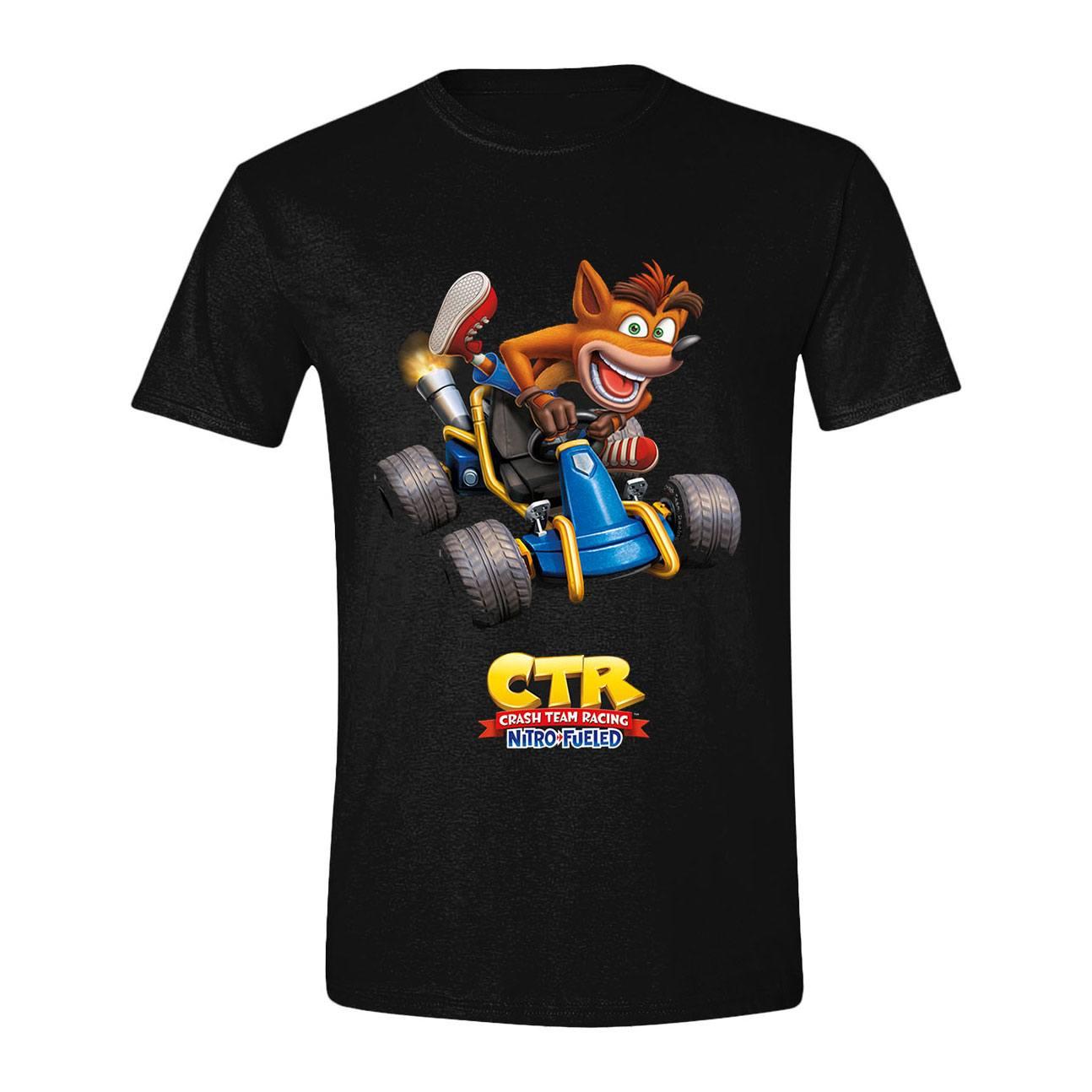 Crash Team Racing T-Shirt Crash Car Size XL