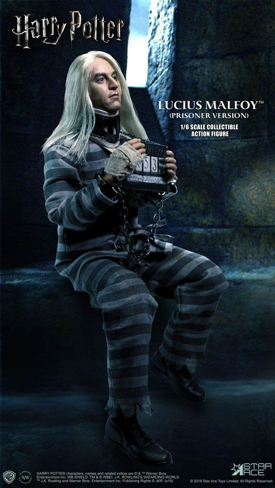 Harry Potter My Favourite Movie Action Figure 1/6 Lucius Malfoy Prisoner Ver. 30 cm