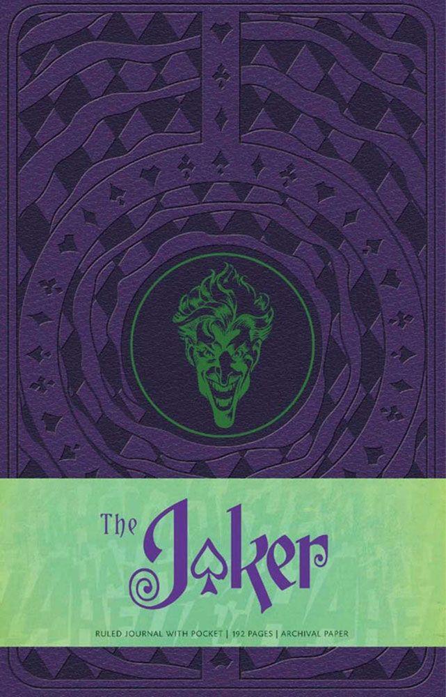 DC Comics Hardcover Ruled Journal The Joker
