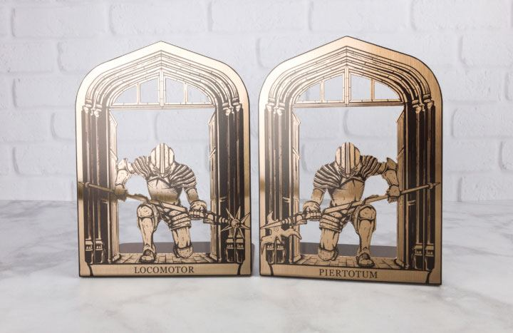 Harry Potter Bookends Piertotum Locomotor Lootcrate Exclusive