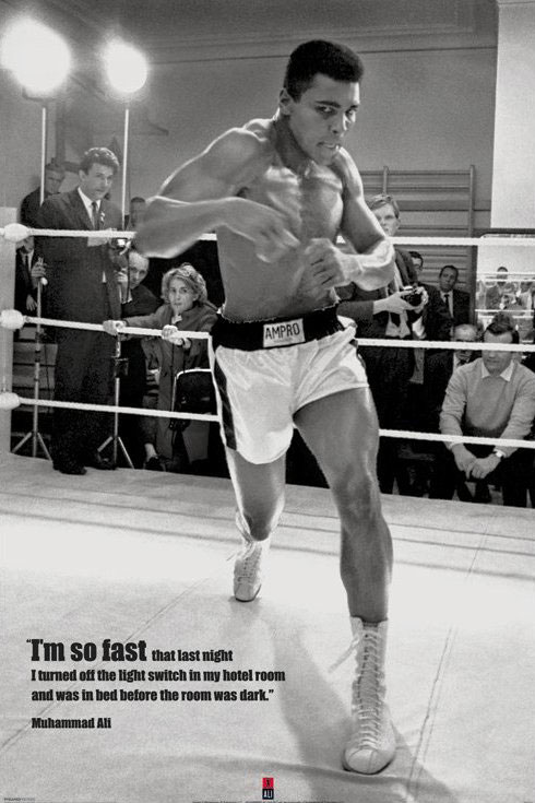 Muhammad Ali Poster Pack Fast 61 x 91 cm (5)