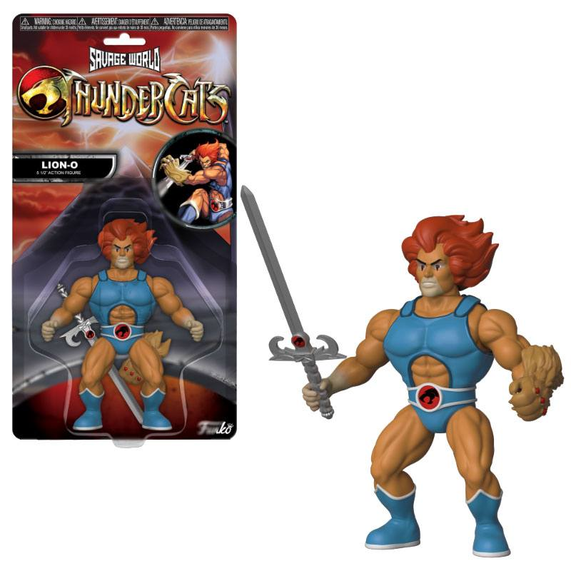 Thundercats Savage World Action Figure Lion-O 10 cm