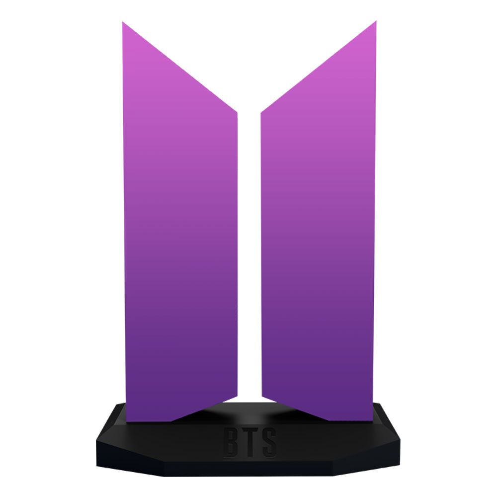 BTS Statue The Color of Love Edition Logo 18 cm