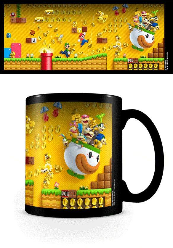 Super Mario Bros. Heat Changing Mug Gold Coin Rush