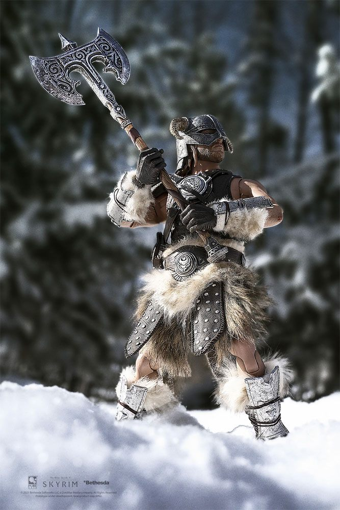 The Elder Scrolls V Skyrim Action Figure 1/6 Dragonborn Deluxe Edition 32 cm