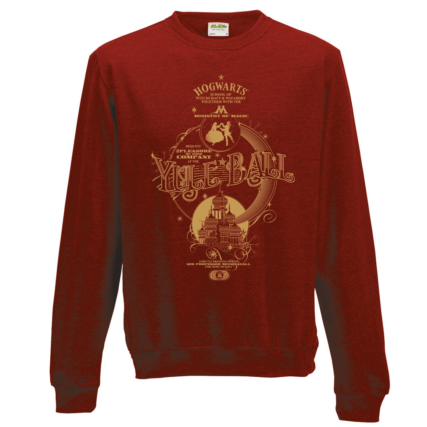 Harry Potter Sweatshirt Yule Ball Size XL