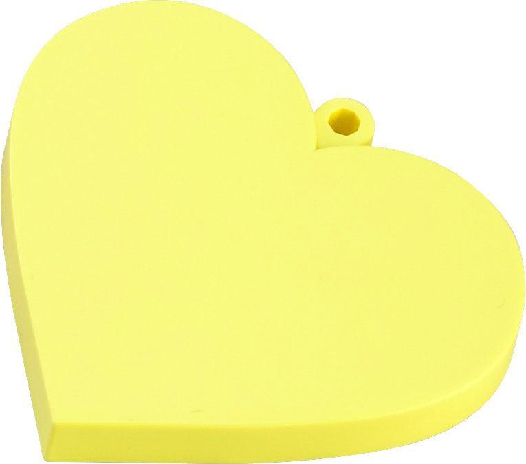 Nendoroid More Face Parts Case for Nendoroid Figures Heart Yellow Version