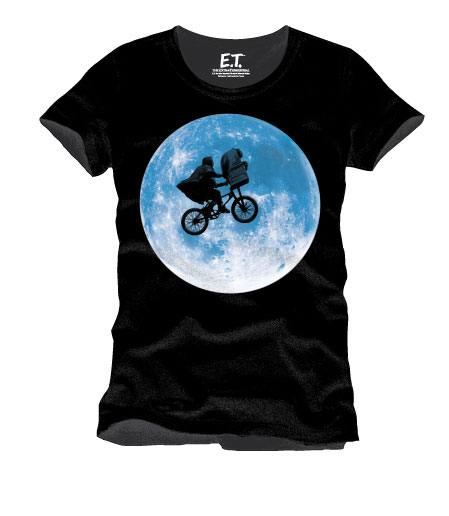 E.T. the Extra-Terrestrial T-Shirt Solar Eclipse Size XL