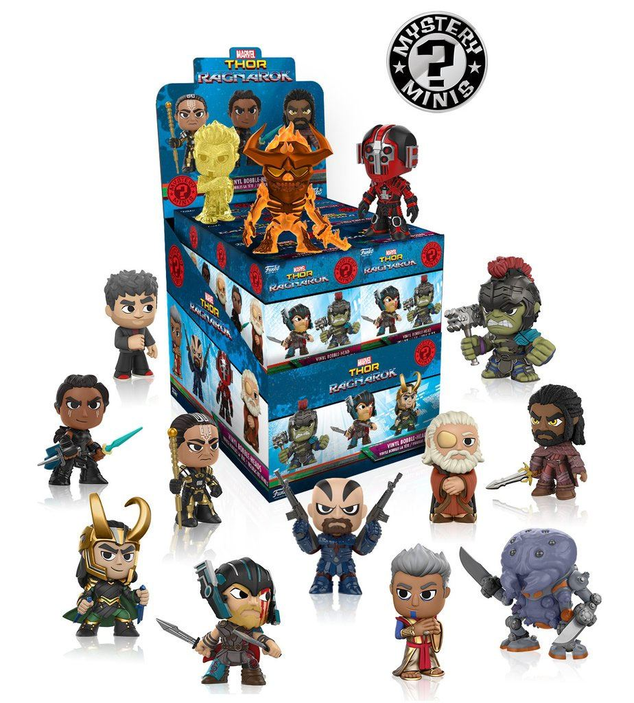Thor Ragnarok Mystery Mini Figures 6 cm Display S1 (12)