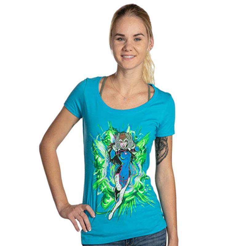 Overwatch Ladies T-Shirt Easy Mode Size XL