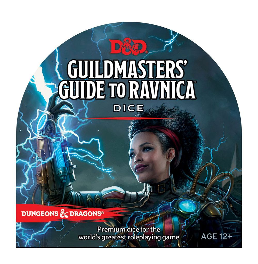 Dungeons & Dragons RPG Dice Set Guildmaster's Guide To Ravnica