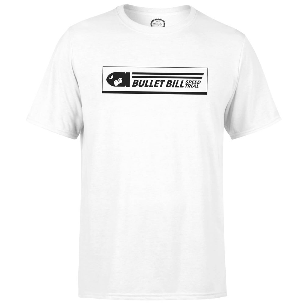 Nintendo T-Shirt Bullet Bill Speed Trial Size XL