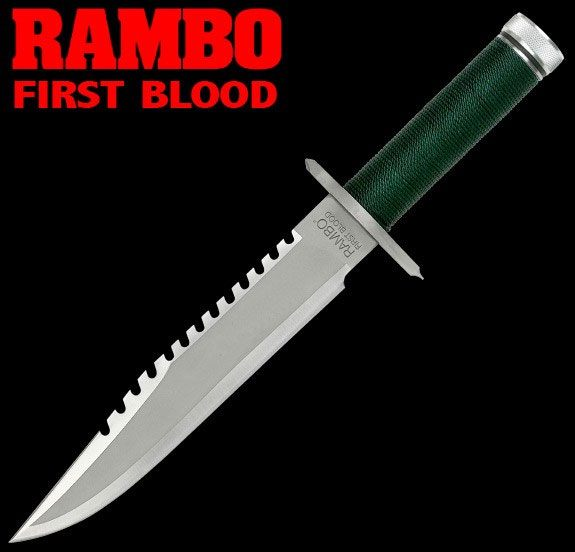 Rambo I First Blood John Rambo Knife Standard Edition 36 cm