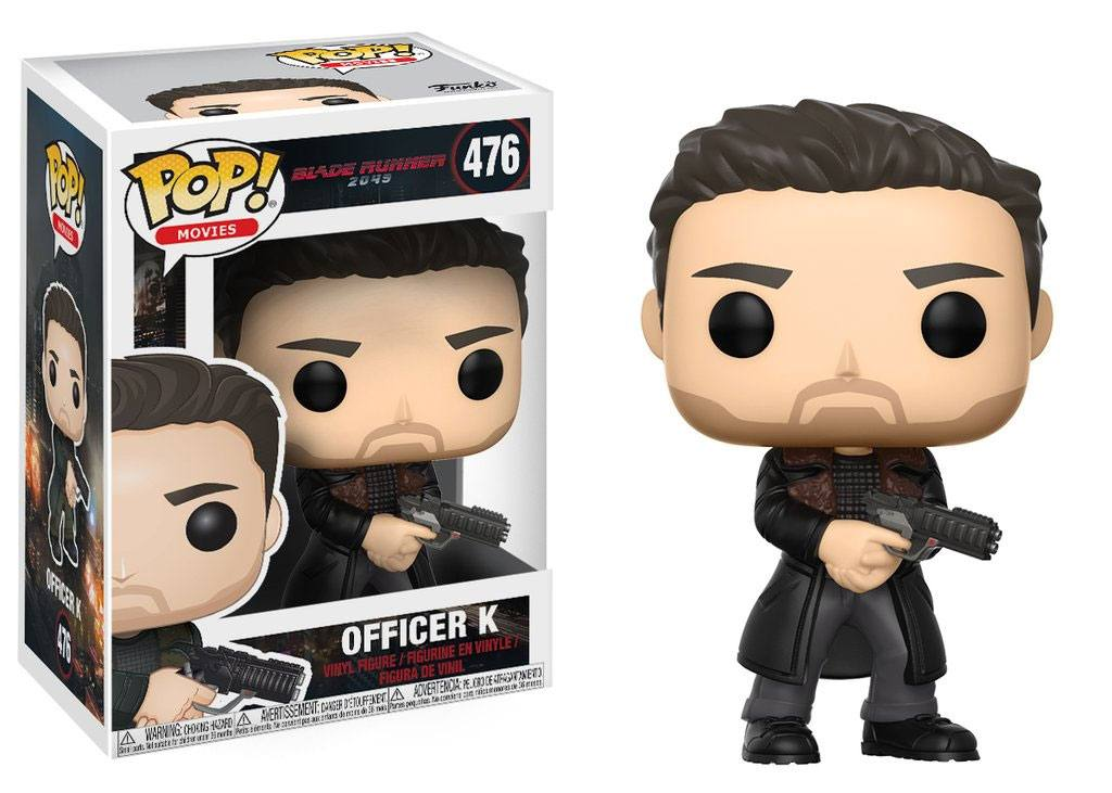 Blade Runner 2049 POP! Movies Vinyl Figure Officer K 9 cm
