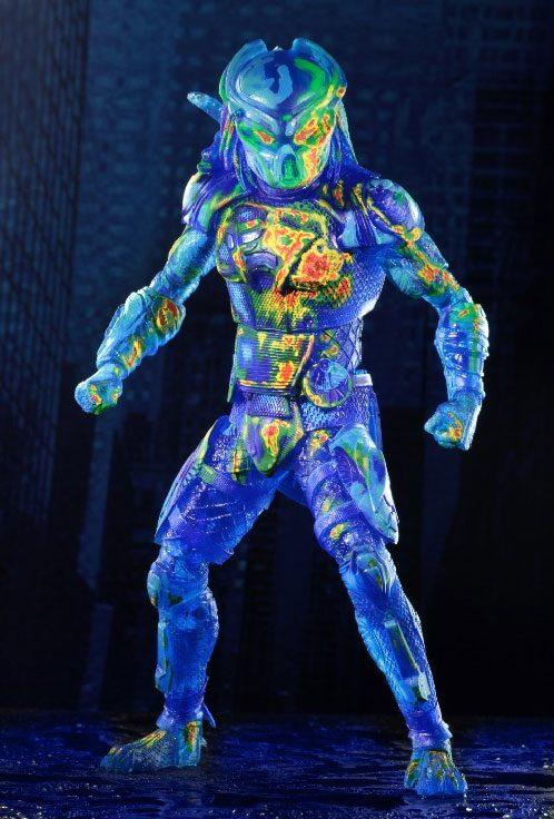 Predator 2018 Action Figure Thermal Vision Fugitive Predator 20 cm --- DAMAGED PACKAGING