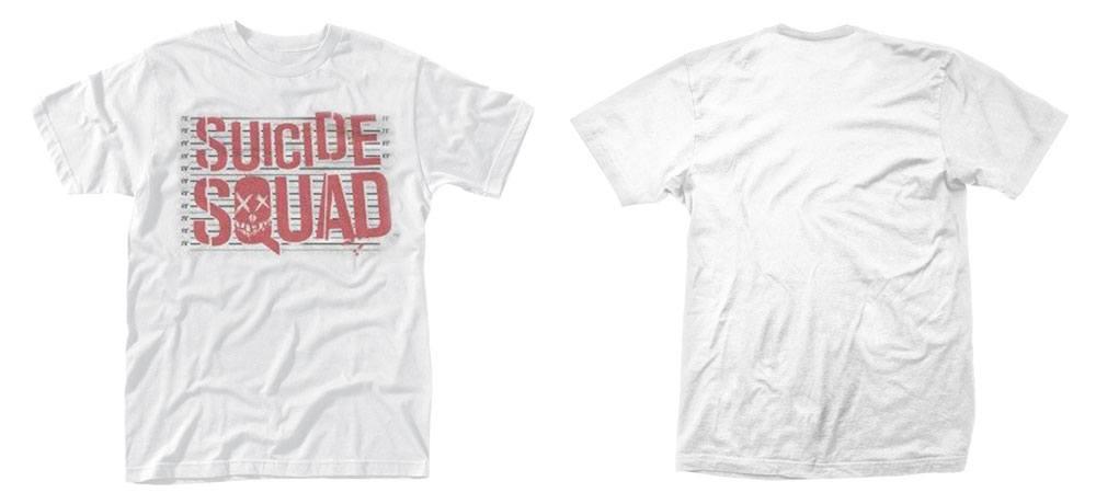 Suicide Squad T-Shirt Logo Line Up Size XL