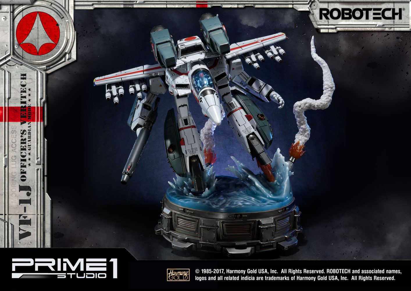 Robotech Statue VF-1J Officer's Veritech Guardian Mode 83 cm