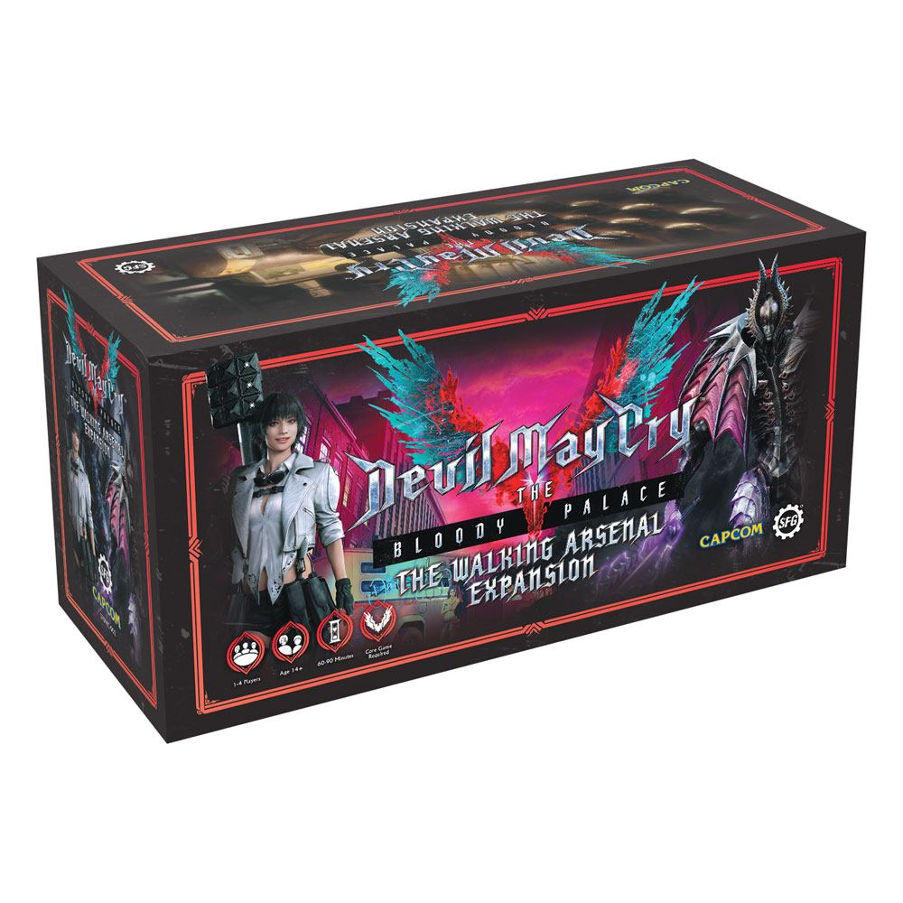 Devil May Cry: The Bloody Palace The Walking Arsenal Expansion *English Version*