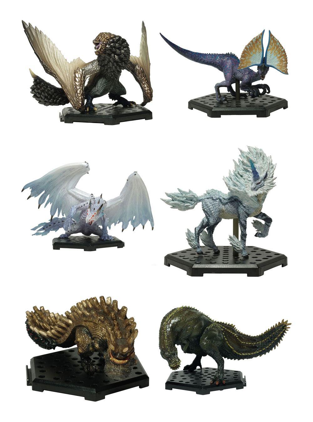 Monster Hunter Trading Figures 10 - 15 cm CFB MH Standard Model Plus Vol. 12 Assortment (6)