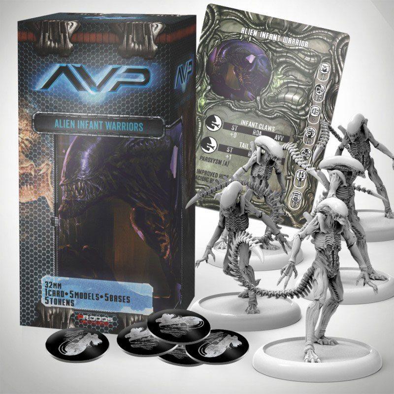 AvP Tabletop Game The Hunt Begins Expansion Pack Alien Infants