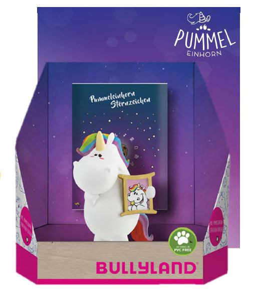 Chubby Unicorn Zodiac Figure Chubby as Gemini Single Pack 6 cm