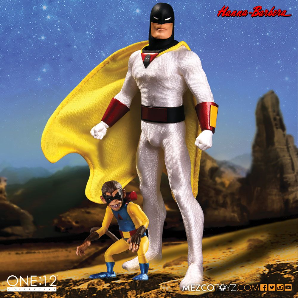 Space Ghost Action Figure 1/12 Space Ghost 16 cm