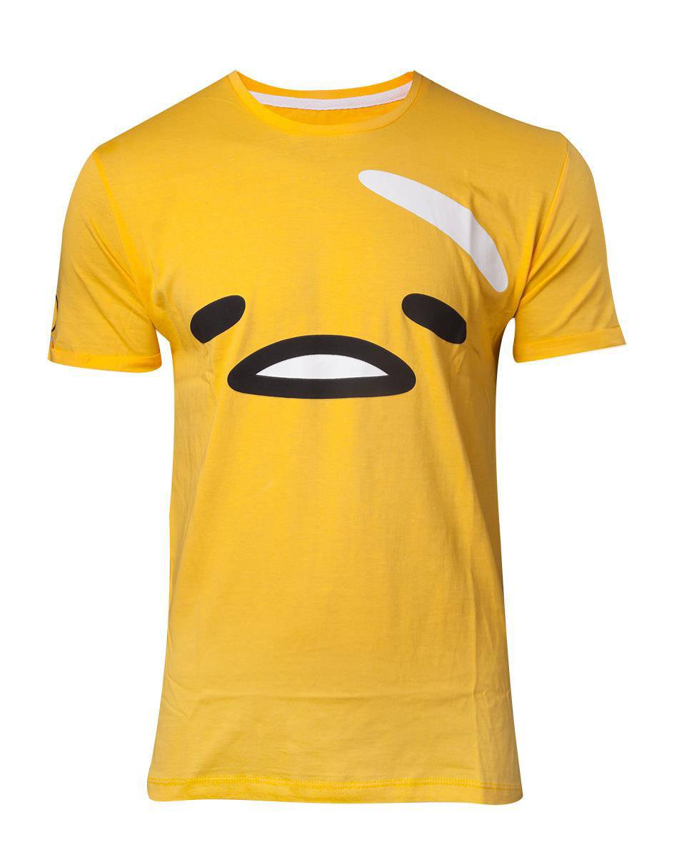 Gudetama, the Lazy Egg T-Shirt The Face Size M