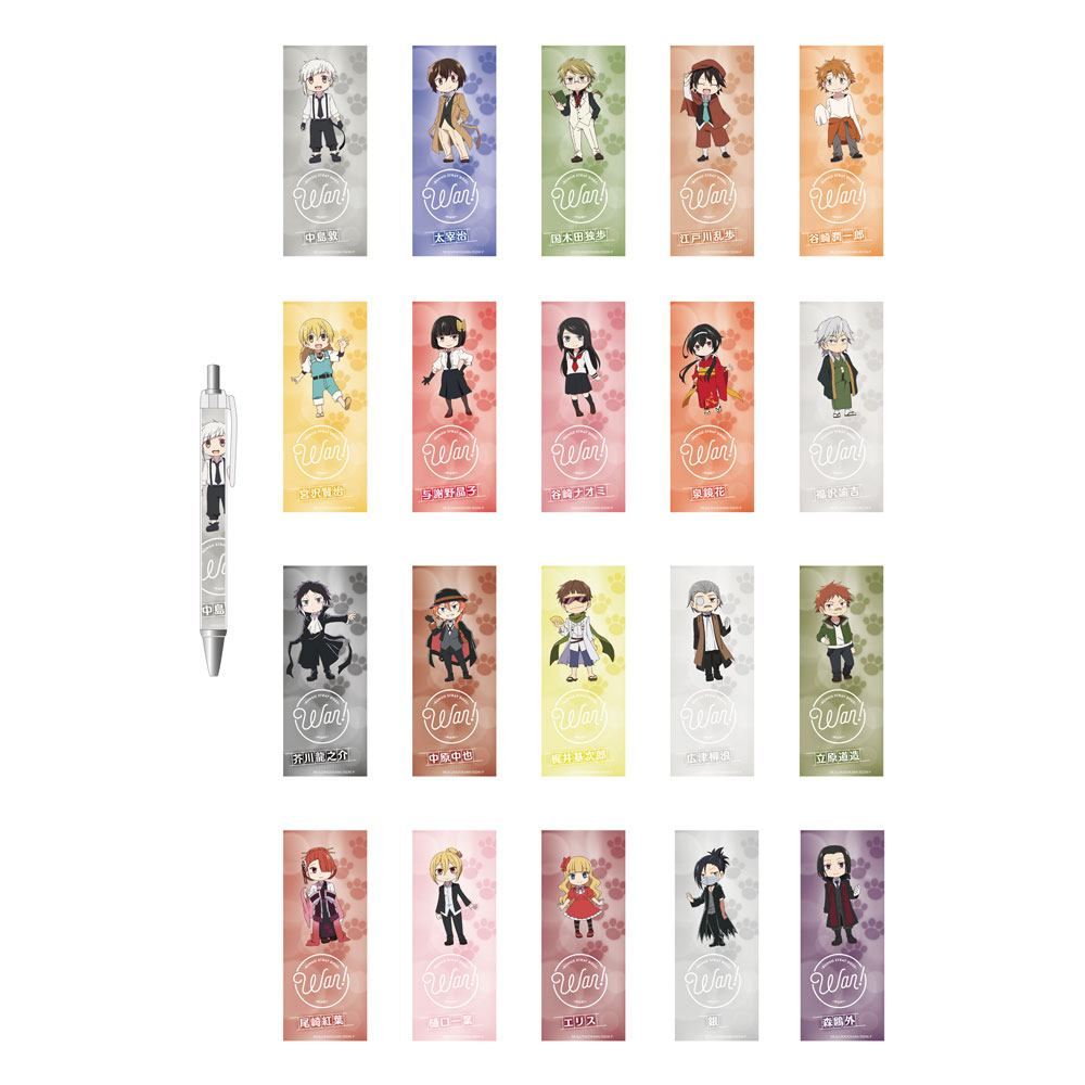Bungo Stray Dogs Wan! Pens 14 cm Assortment (20)