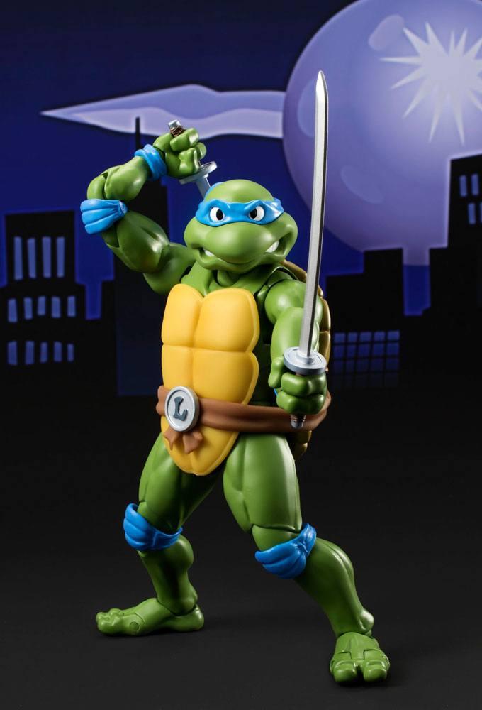 Teenage Mutant Ninja Turtles S.H. Figuarts Action Figure Leonardo Tamashii Web Exclusive 15 cm
