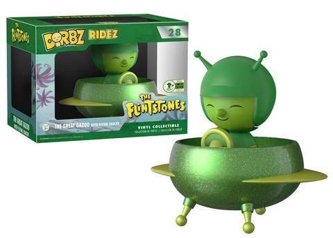 The Flintstones POP! Ridez Vinyl Vehicle with Dorbz Figure The Great Gazoo 12 cm