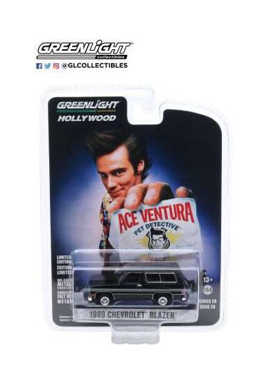 Ace Ventura Diecast Model 1/64 1989 Chevrolet Blazer