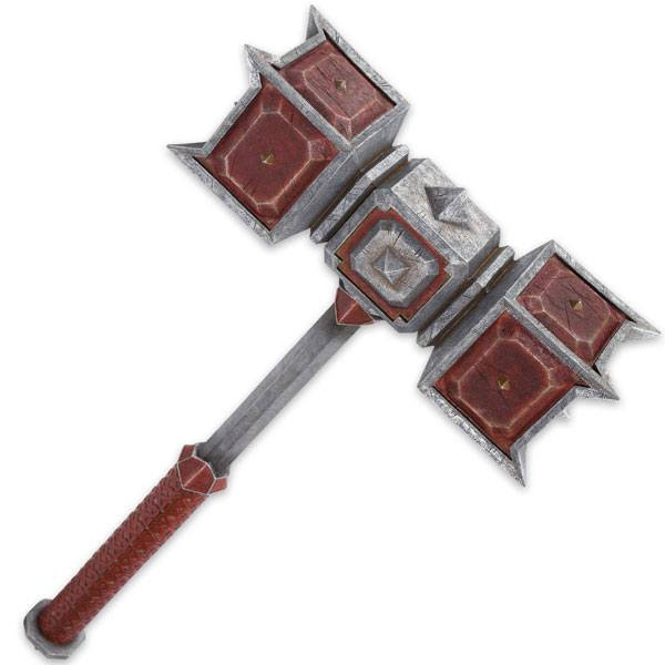 The Hobbit The Battle of the Five Armies Replica 1/1 Hammer of Dain Ironfoot 89 cm