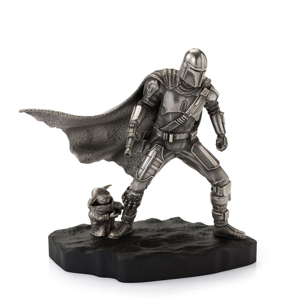 Star Wars The Mandalorian Pewter Collectible Statue Mandalorian Limited Edition 20 cm
