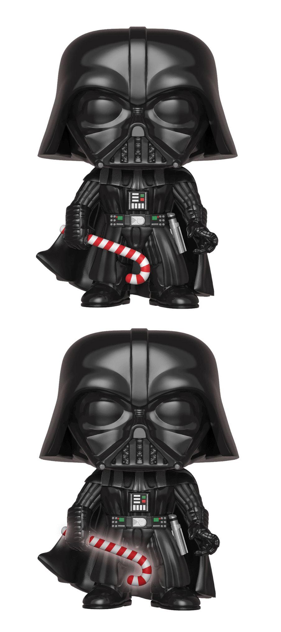 Star Wars POP! Vinyl Bobble-Head Figures Holiday Darth Vader 9 cm Assortment (6)