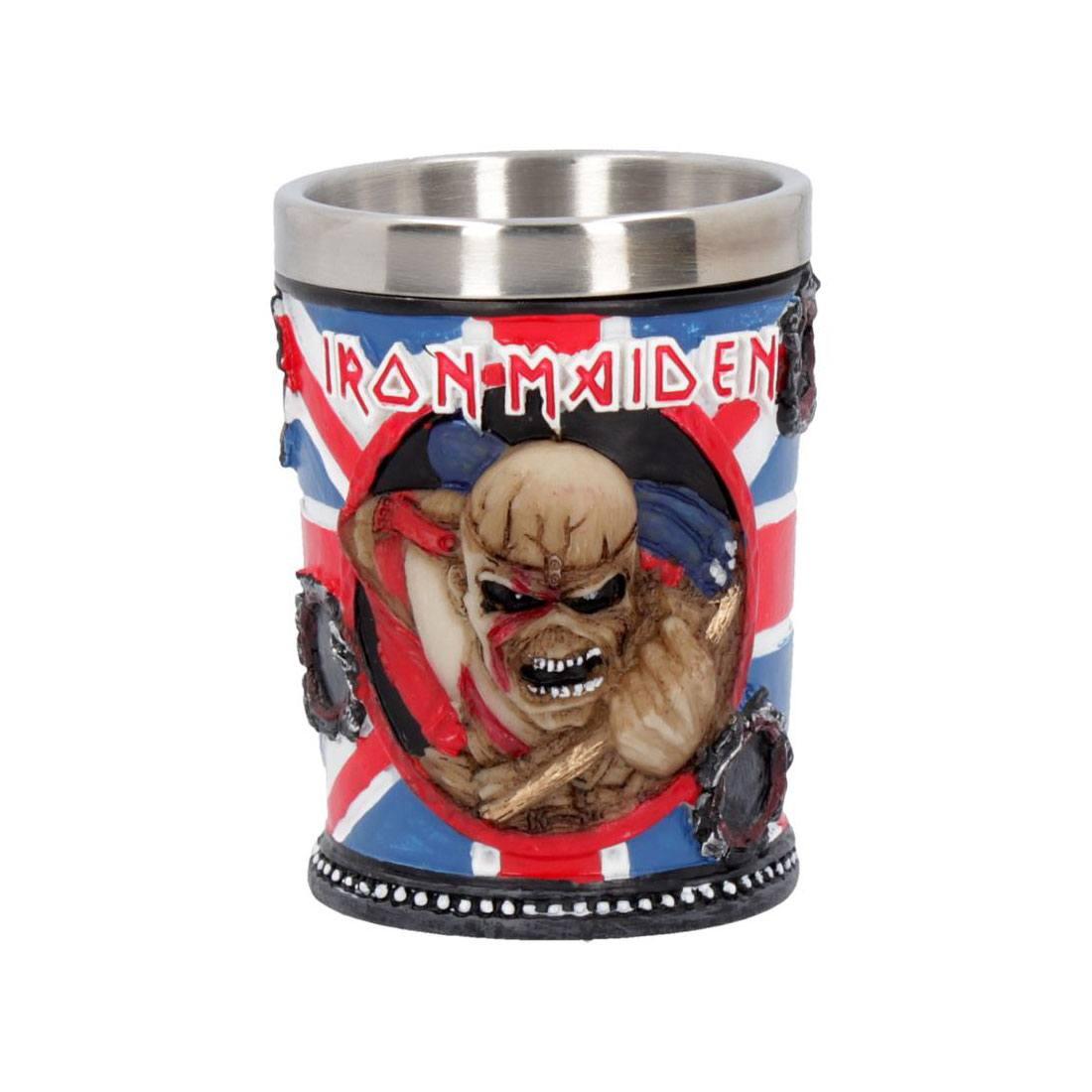 Iron Maiden Shot Glass Trooper