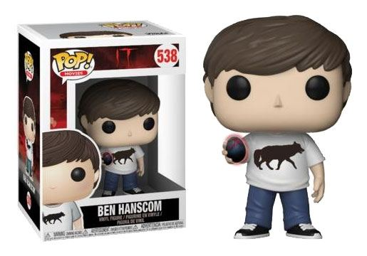 Stephen King's It 2017 POP! Movies Vinyl Figure Ben Hanscom 9 cm