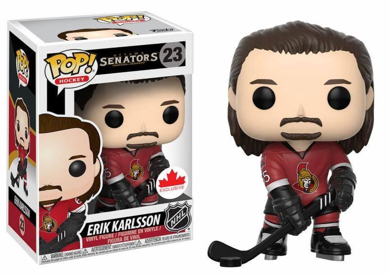 NHL POP! Hockey Vinyl Figure Erik Karlsson 9 cm