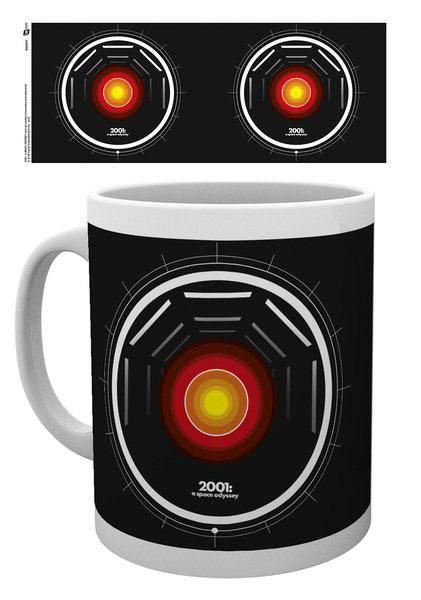 2001: A Space Odyssey Mug Hal Icon